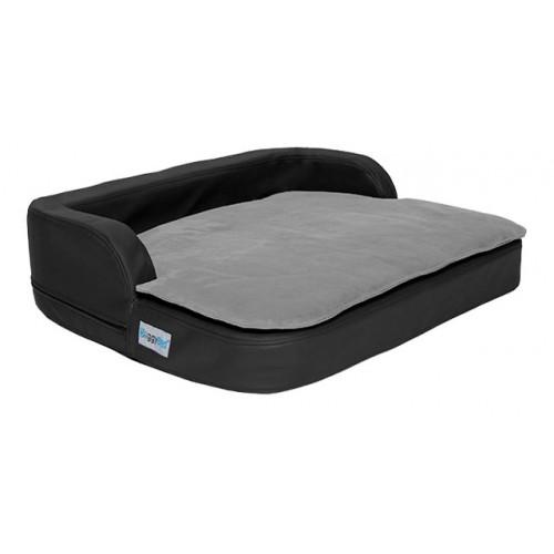 orthop disches hundekissen medical style plus schwarz 80 x. Black Bedroom Furniture Sets. Home Design Ideas