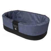 Orthopedische Hondenmand Paddy Style blauw microvezel 70 x 45 x 22 cm