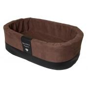 Orthopedische Hondenmand Paddy Style bruin microvezel 55 x 42 x 18 cm