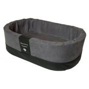 Orthopedische Hondenmand Paddy Style grijs microvezel 55 x 42 x 18 cm